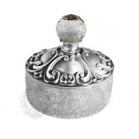 Баночка для ванной Migliore Cristalia Swarovski ML.CRS-60.227.CR, хром