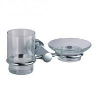 Держатель стакана и мыльницы WasserKraft Donau K-9400 K-9426