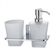 Держатель стакана и дозатора WasserKraft Leine K-5000 K-5089