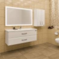 Мебель для ванной СанТа Виктория 120 подвесная