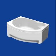 Акриловая ванна Thermolux INFINITY MINI 170x105 R