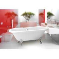 Акриловая ванна BelBagno BB21-CRM ножки хром