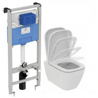 Комплект Ideal Standard i.Life A I001701 унитаз + инсталляция 3 в 1