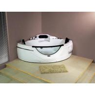 Акриловая ванна Loranto 150х150 с гидромассажем
