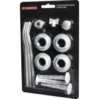 Монтажный набор Rommer 1/2 монтажный комплект 13 в 1 c тремя кронштейнами
