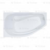 Акриловая ванна Triton Скарлет 167х96 R