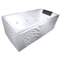 Акриловая ванна Aquatika Аксиома без гидромассажа