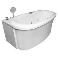 Акриловая ванна Aquatika Скульптура Базик