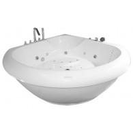 Акриловая ванна Aquatika Тема (150x150 см) Базик