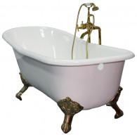 Ванна чугунная Elegansa Schale bronze