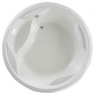 Акриловая ванна PAA Rondo белая