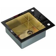 Мойка из нержавейки Zorg Inox GL-6051 Black-Bronze