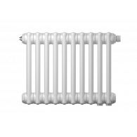 Радиатор трубчатый Zehnder Charleston Retrofit 2056, 14 сек.1/2 бок.подк. RAL9016 (кроншт.в компл)
