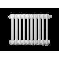 Радиатор трубчатый Zehnder Charleston Retrofit 2056, 16 сек.1/2 бок.подк. RAL9016 (кроншт.в компл)