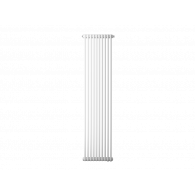 Радиатор трубчатый Zehnder Charleston 2180, 08 сек.1/2 бок.подк. RAL9016 (кроншт.в компл)