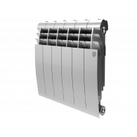 Радиатор Royal Thermo BiLiner 350 /Silver Satin - 10 секц.