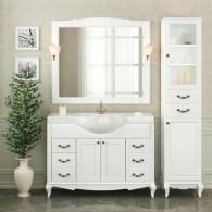 Мебель для ванной DiHome Сильвия 120 белая