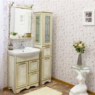 Мебель для ванной Sanflor Адель 65 белая, золото