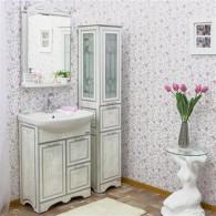 Мебель для ванной Sanflor Адель 65 белая, серебро