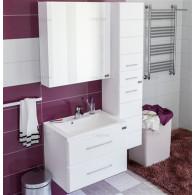 Мебель для ванной СанТа Омега Люкс 65 подвесная белая 2 ящика