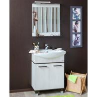 Мебель для ванной Sanflor Толедо 75 венге, северное дерево светлое