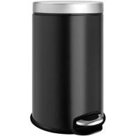 Ведро для мусора Weltwasser WW Erfie BL 12L черное