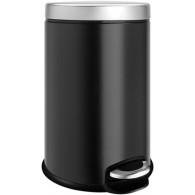 Ведро для мусора Weltwasser WW Erfie BL 5L черное