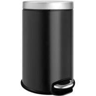 Ведро для мусора Weltwasser WW Erfie BL 8L черное