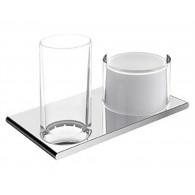 Дозатор жидкого мыла Keuco Edition 400 11553 со стаканом