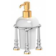 Дозатор жидкого мыла 3SC Stilmar UN STI 129 хром, золото