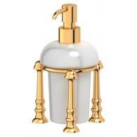 Дозатор жидкого мыла 3SC Stilmar UN STI 229 золото
