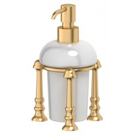 Дозатор жидкого мыла 3SC Stilmar UN STI 329 матовое золото