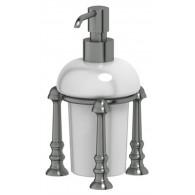Дозатор жидкого мыла 3SC Stilmar UN STI 429 античное серебро