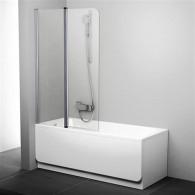 Шторка на ванну Ravak CVS2-100 L Transparent профиль блестящий 7QLA0C00Z1