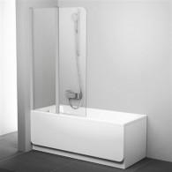 Шторка на ванну Ravak CVS2-100 L Transparent профиль сатин 7QLA0U00Z1