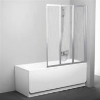 Шторка на ванну Ravak VS3 115 Rain профиль сатин 795S0U0041
