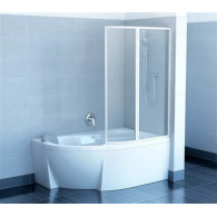 Шторка на ванну Ravak VSK2 Rosa 170 R Rain 76PB010041