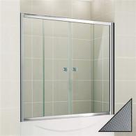 Шторка на ванну Cezares Pratico VF2 170/140 P Cr