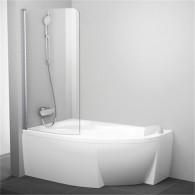 Шторка на ванну Ravak Rosa CVSK1 140/150 L Transparent профиль блестящий 7QLM0C00Y1