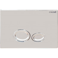Кнопка слива инсталляций Creavit Drop GP2004.00 хром глянцевый