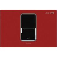 Кнопка слива инсталляций Creavit FP8001.01 красная