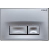 Кнопка слива инсталляций Creavit Ore GP3002.00 серый матовый