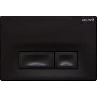 Кнопка слива инсталляций Creavit Ore GP3002.01 черный матовый