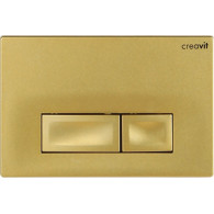Кнопка слива инсталляций Creavit Ore GP3006.00 золото матовое