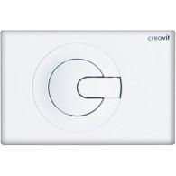 Кнопка слива инсталляций Creavit Power GP5001.00 белая