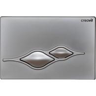 Кнопка слива инсталляций Creavit Ufo GP1002.00 серый матовый