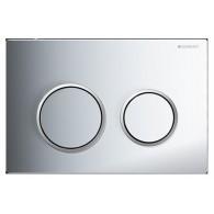 Кнопка слива инсталляций Geberit Omega 20 115.085.KH.1 хром/матовый хром