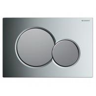 Кнопка слива инсталляций Geberit Sigma 01 115.770.KA.5 хром/матовый хром