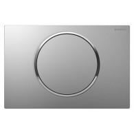 Кнопка слива инсталляций Geberit Sigma 10 115.758.KN.5 хром матовый/хром