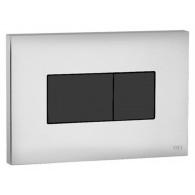 Кнопка слива инсталляций OLI Karisma 641019 хром, кнопка черная
